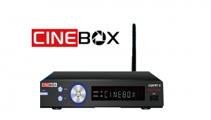 Atualização Cinebox legend x2 - 63w e iks on - 04 julho 2017