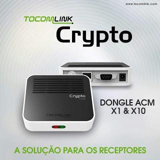 ATUALIZAÇÃO TOCOMLINK CRYPTO X1 V.1.017 - DEZEMBRO 2017