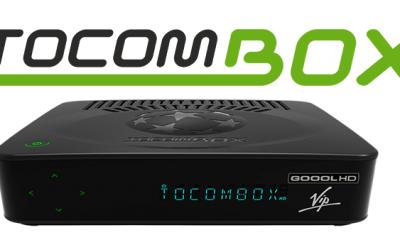 Tocombox Goool HD VIP Nova Atualização v.01.031 - 11 Outubro 2018