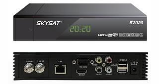 Atualização Skysat S2020 nova v.1.1636 disponível para download grátis - 07/01/2016
