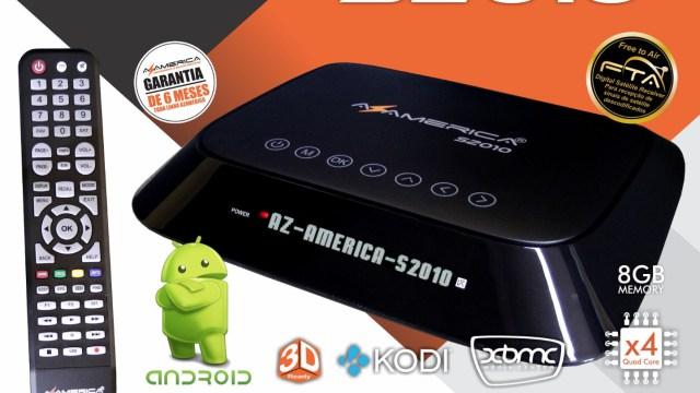 Azamerica s2010 adicionado correções e melhorias com a nova firmware