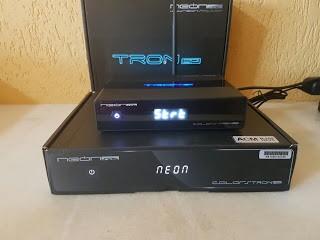 Resultado de imagem para NEONSAT TRON HD