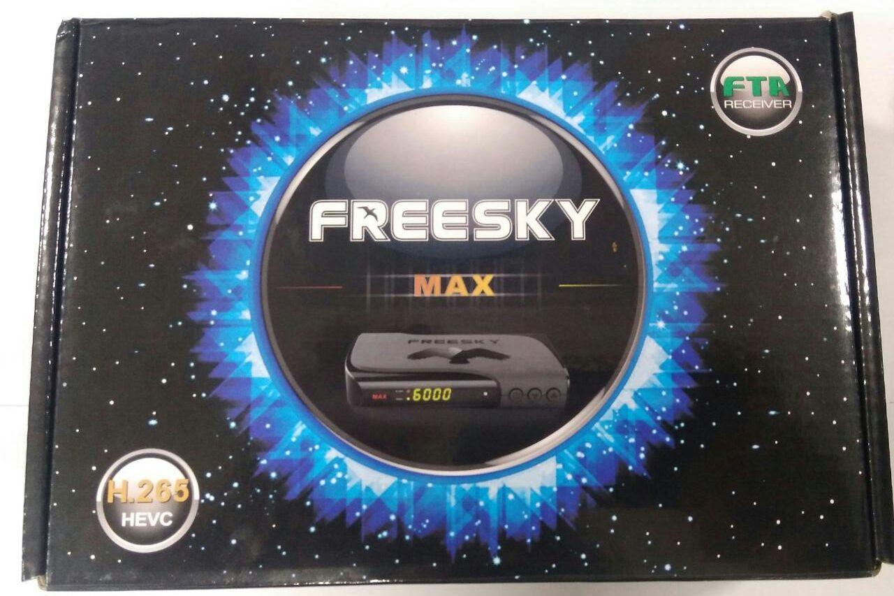ATUALIZAÇÃO FREESKY MAX STAR V.1.23 - JULHO 2018