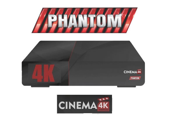 Phantom Cinema 4k Nova atualização v.2.02.825 - 26/09/2018