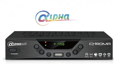 Alphasat Chroma Nova Atualização v.10.09.14.s55 - 16 Outubro 2018