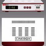 Cinebox Atualização optimo x2 58w on - 08/07/2017