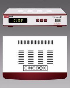 Baixar atualização do receptor Cinebox optimo x2 - 30 julho 2017