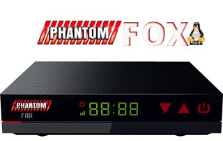 ATUALIZAÇÃO PHANTOM FOX V.1.023 - 28/03/2018