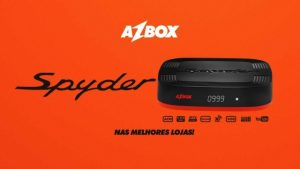 Download nova atualização azbox spyder v.1.20 - Março 2018