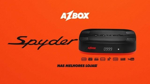 Azbox Spyder Nova Atualização v.1.006 - 22 Outubro 2018
