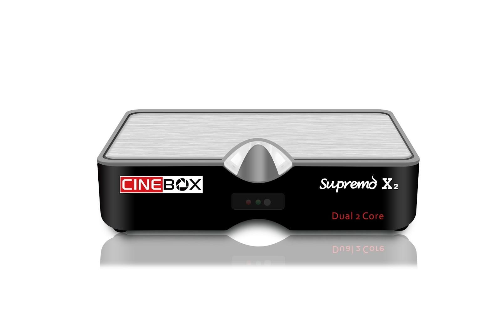 Cinebox Supremo x2 nova Atualização - 29 Outubro 2018