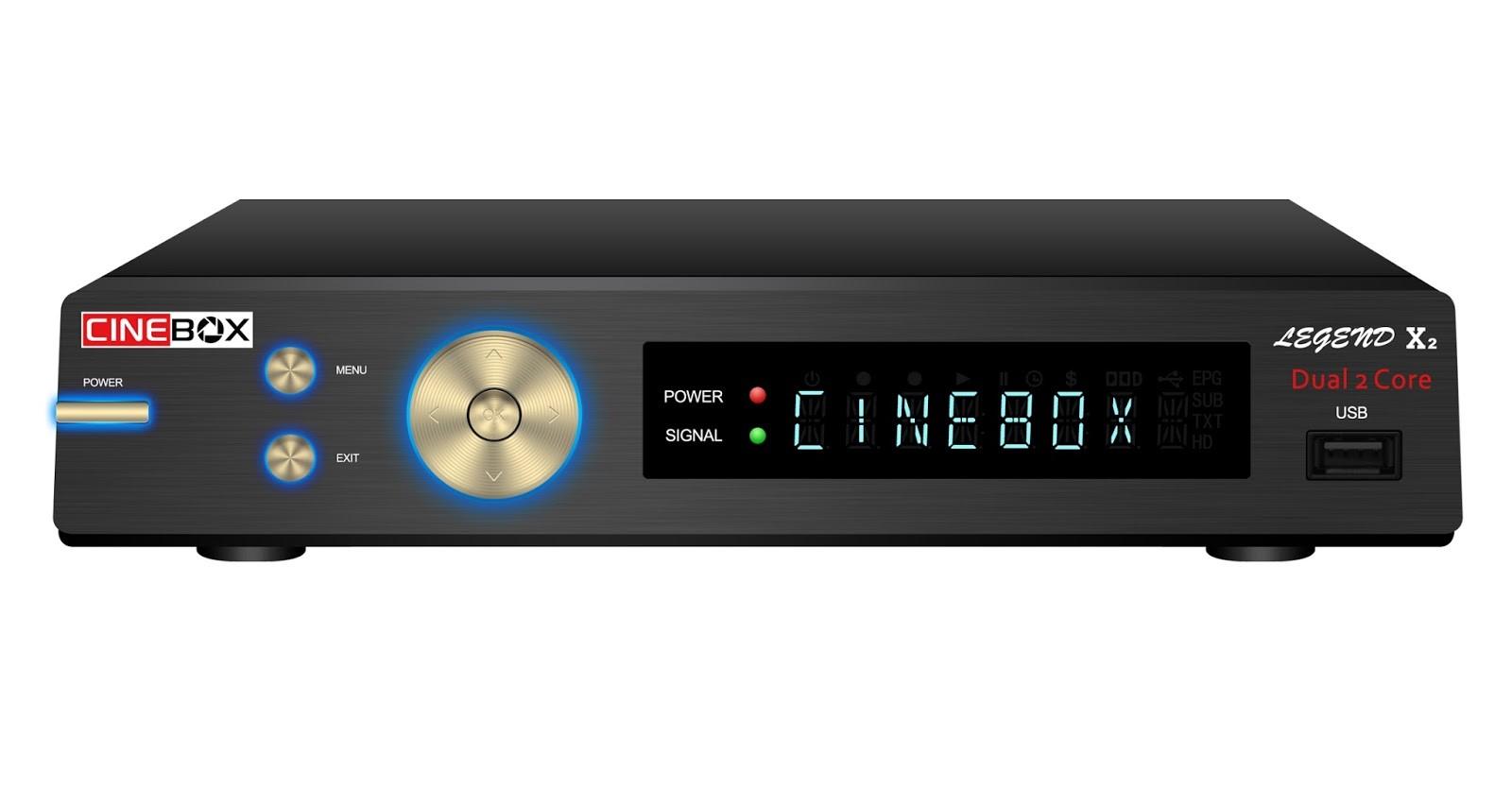 Cinebox legend x2 Nova Atualização - 29 outubro 2018