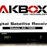 ATUALIZAÇÃOAKBOX AK-1000 HD - azamerica sat