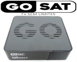 GOSAT S3 MAXX PRIMEIRA ATUALIZAÇÃO V.1001 - 2017