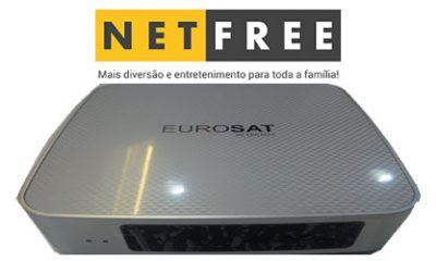 atualização Netfree Eurosat Hd 1