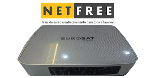 ATUALIZAÇÃO NETFREE EUROSAT V.1.64 - JULHO 2018