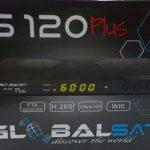 GLOBALSAT GS120 PLUS ATUALIZAÇÃO V1.11 - JANEIRO 2018