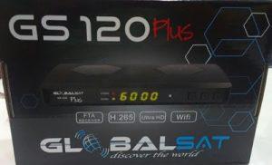 atualização Globalsat Gs120 Plus