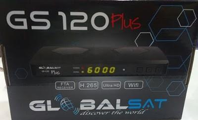 Globalsat Gs120 Plus Nova Atualização v.1.19 - 25 Outubro 2018