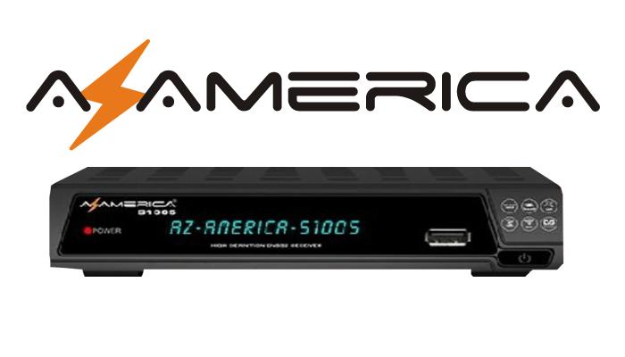 Azamerica S1005 Nova Atualização v.1.09.19985 - 17 Outubro 2018