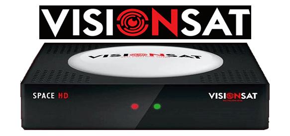 ATUALIZAÇÃO VISIONSAT SPACE HD - AZAMERICASAT