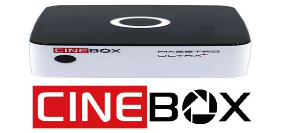 Atualização Cinebox Maestro Ultra+ V.1.32.0 - Download - 2018.
