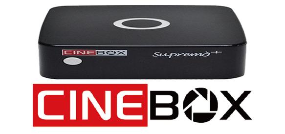 Cinebox Supremo Plus Nova Atualização - 02/11/2018