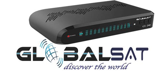 Globalsat Gs240 Nova atualização v.2.33 - 03/11/2018
