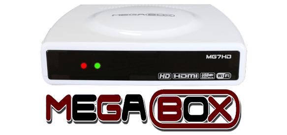 Atualização Megabox MG 7 HD Plus V.162 - Download - 13/04/2018.