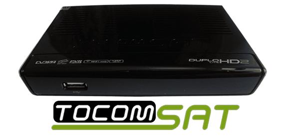 Atualização Tocomsat Duplo Lite HD2 V.1.54 - Download - 2018.