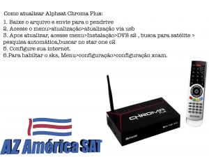 Instalação Alphasat Chroma Plus em osasco