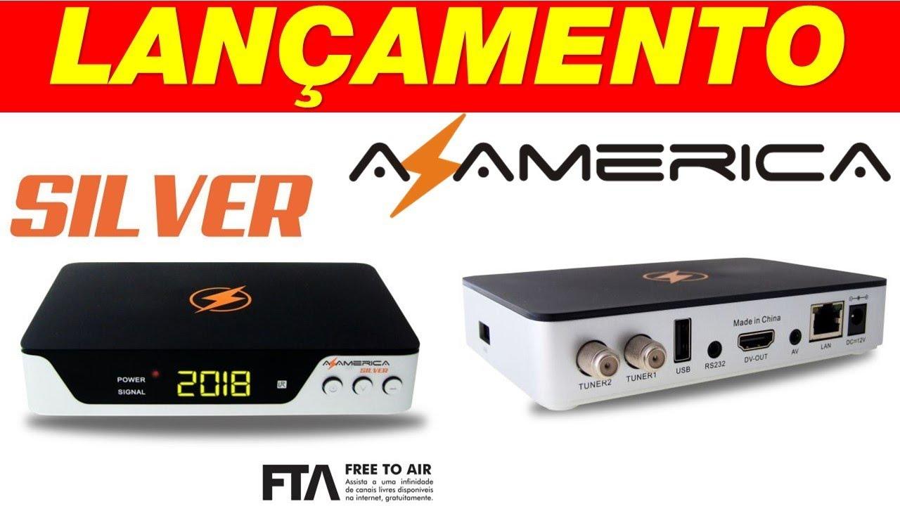 Azamerica Silver Nova Atualização v.1.11 - 17 Outubro 2018