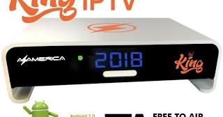 Azamerica King IPTV Última Atualização - 26/09/2018