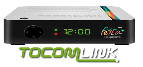 atualização tocomlink festa Hd+ Acm