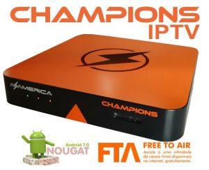 Azamerica Champions IPTV Última atualização - 26/09/2018