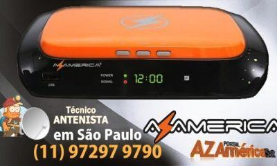 Atualização Azamerica Champions HD