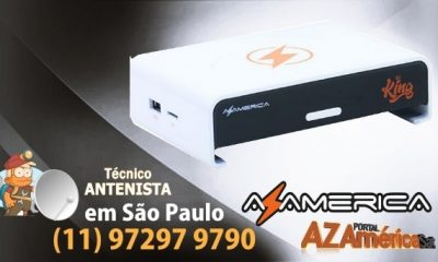 Atualização Azamerica King IPTV - Oficial 2019