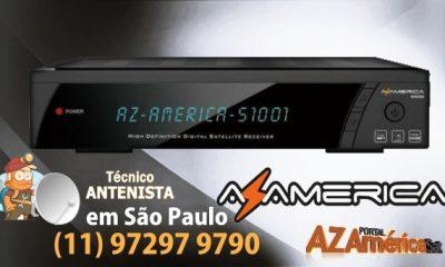 Atualização Azamerica S1001