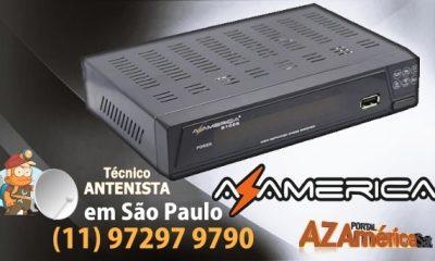 AZAMERICA S1005 HD ATUALIZAÇÃO