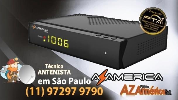 AZAMERICA S1006 HD ATUALIZAÇÃO