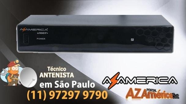 Atualização AZ-América S1007+ Plus