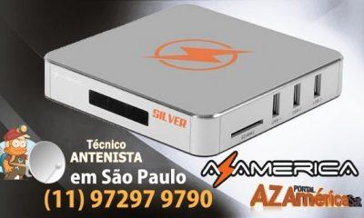 Atualização Azamerica Silver IPTV