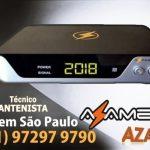Atualização Azamerica Silver HD