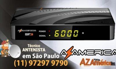 Atualização Azamerica ST3 HD