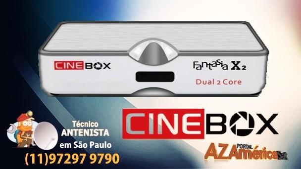 atualização Cinebox Fantasia X2