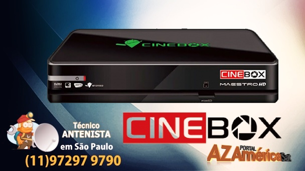 Atualização Cinebox Maestro HD
