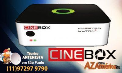 Atualização Cinebox Maestro Ultra+ Plus