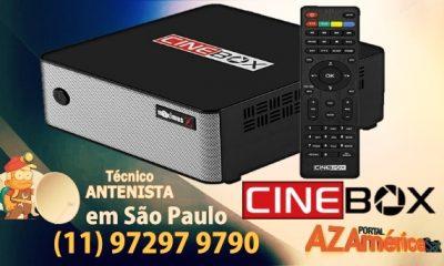 Atualização Cinebox Maximus Z HD