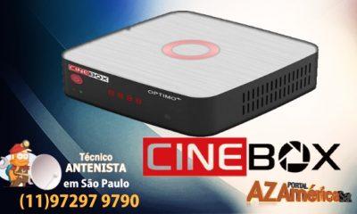 CINEBOX OPTIMO+ HD ATUALIZAÇÃO