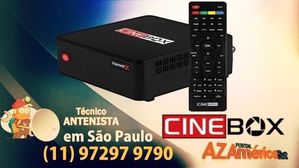 Atualização Cinebox Supremo Z HD